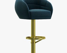 3D Essential Home Mansfield Bar Chair