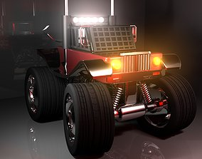 3D truck model for low price