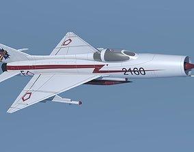 3D model MiG-21 AURI