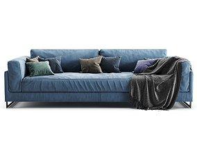 3D model Frigerio Salotti-DAVIS IN-4 seater sofa