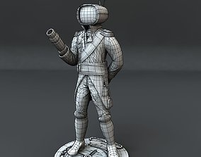 3D model Robot Prince
