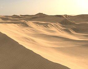 Desert sand Landscape 3D model