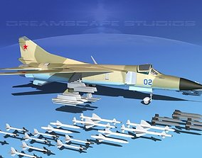 3D model Mig 23 Flogger B V08 Russia
