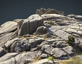 3D asset MOUNTAIN ROCKS 4