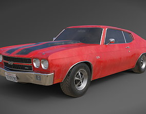 Chevrolet Chevelle SS 1970 vehicle 3D model