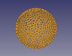 Voronoi globe sphere for 3D printing