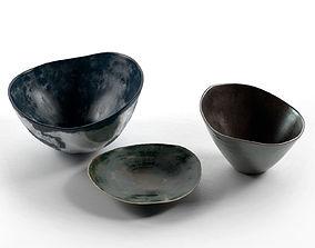bowls Vintage Bowls 3D model