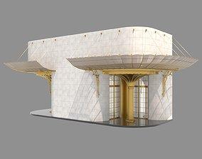 Entrance 3D model door
