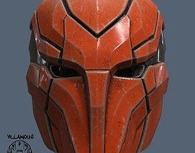 Red Hood Injustice 2 Helmet 3D printable model