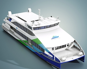 San Francisco Bay Ferry Hydrus 3D