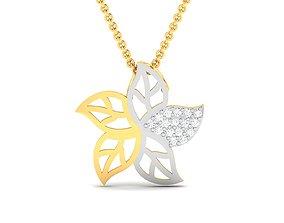 jewellery sterling Women pendant 3dm render detail