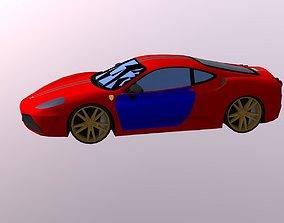 3D model sports Car 3dmodel