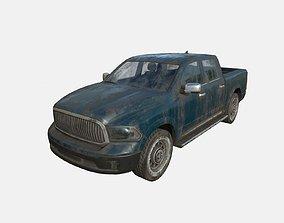 3D model Abandoned Car 61