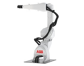 ABB IRB 5500-27 Compact Paint Robot 3D model