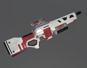 3D model Sci-fi Kinetic Rifle