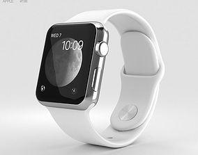 Apple Watch Series 2 38mm Stainless Steel Case 3D model 2