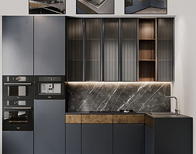 Kitchen Modern 13 3D