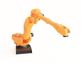 cutting 3D Industrial robot 05
