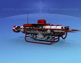 3D model Deep Ocean Submersible