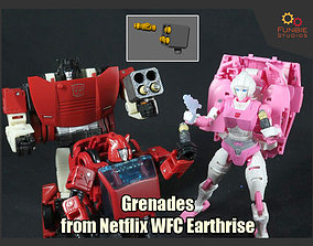 3D printable model Grenades from Transformers Netflix WFC