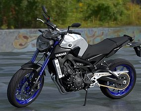 mt-09 Yamaha MT-09 2014 3D