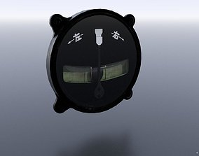 JAPANESE TURN AND BANK INDICATOR 3D model