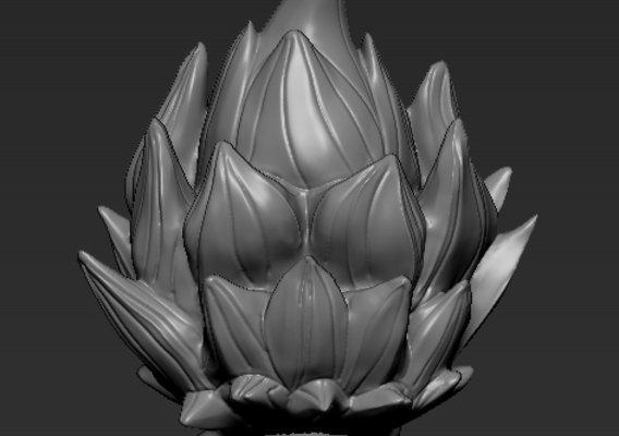 Goku 1/6 scale head commission