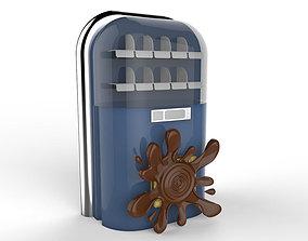 Munchy Jukebox Vending Machine 3D