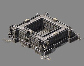Different dimension - architecture - ruins 03 3D model