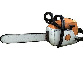 3D model Chainsaw