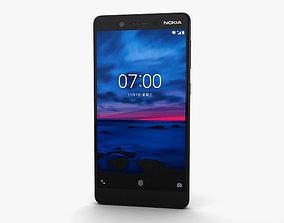 3D model Nokia 7 Gloss Black