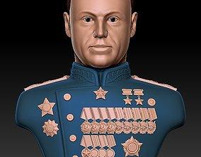 3D printable model Bust Rokossovsky Konstantin 1