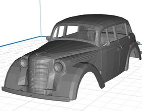 Opel Kadett 1936 Printable 3D Body Car