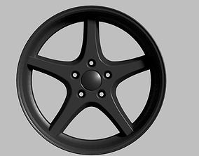 3D model Viva performance MK-18 Ocean Alloy wheel