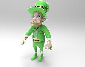 3D printable model St Patricks Elf