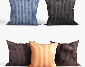 Decorative pillows set 035 3D model
