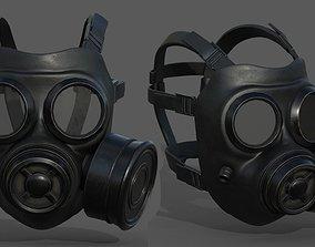 Gas mask helmet scifi fantasy armor hats 3D model