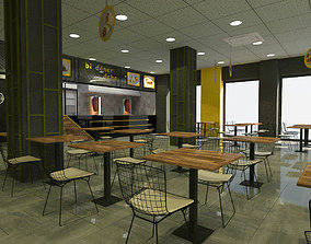 Turkish Doner Restaurant 3D model