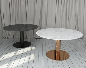 3D model Gubi Table 2 Round Dining Table