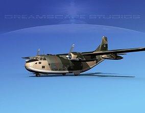 Fairchild C-123B Air National Guard 3D