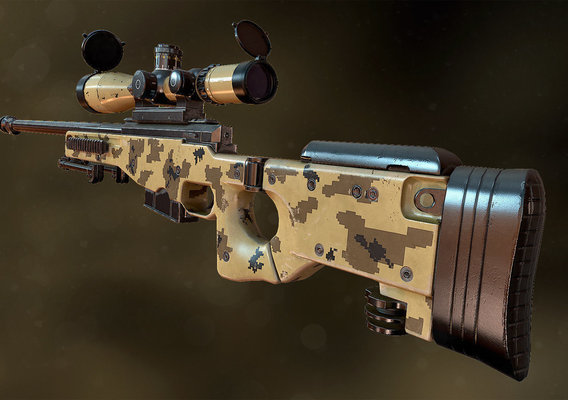 AWM Sniper Rifle