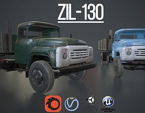 Russian Truck ZIL-130 3D model