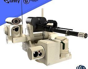 3D USMC MARINE AUTO TURRET