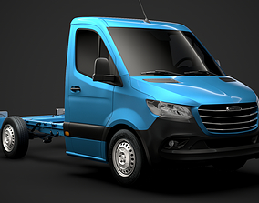Freightliner Sprinter Chassis Single Cab L1 FWD 2019 3D