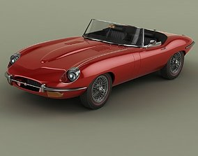 Jaguar E-Type Series 2 Convertible 3D