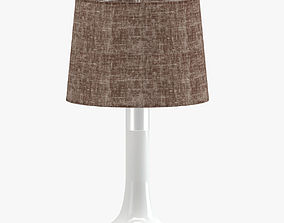3D Brown Table Lamp
