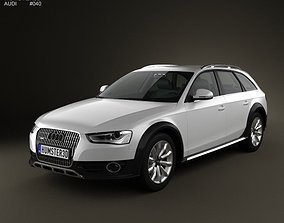 Audi A4 Allroad 2013 3D model
