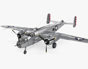 North American B-25 Mitchell 3D