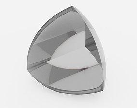 3D model Quadrosphere optical Lens Simple Shapes