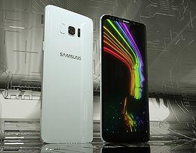 3D Samsung Galaxy S8 plus